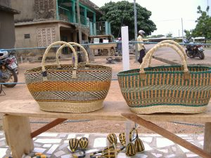 Large oblong baskets